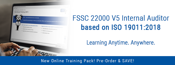 FSSC 22000 Version 5 Internal Auditor Training Pack – Pre-Order Today!