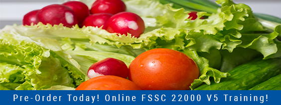 Online FSSC 22000 Version 5 Foundation Training – Pre-Order Today!