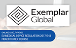 Online Comprehensive EU Medical Device Regulation/MDR 2017/745 Practitioner Course | Exemplar Global Certified