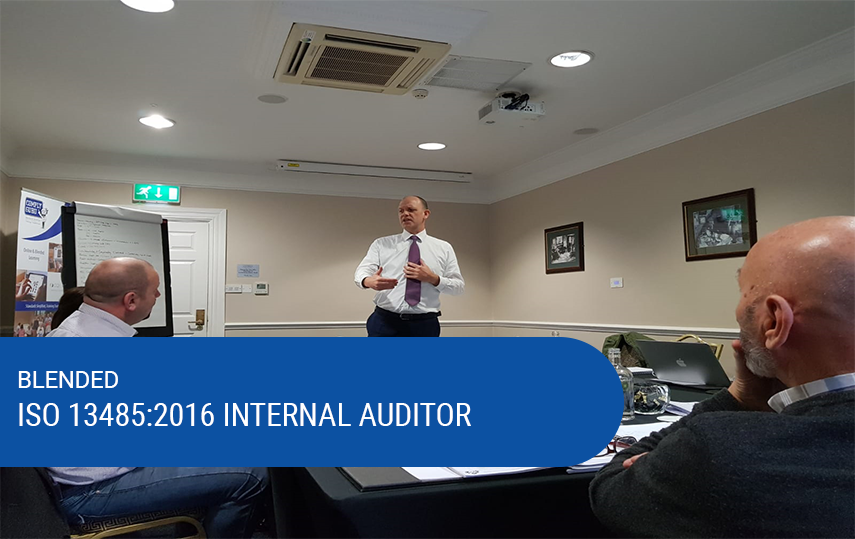 Blended ISO 13485:2016 Internal Auditor Training - CQI & IRCA Pending